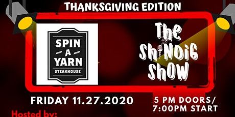 Thanksgiving Shindig with Greg Baldwin and Jimmy S tickets
