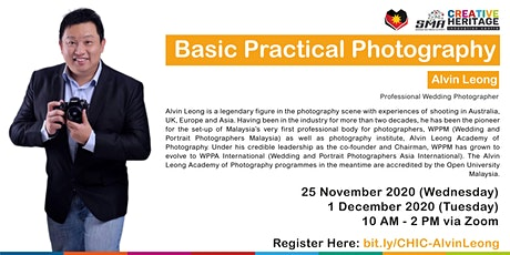 [ONLINE] Basic Practical Photography tickets