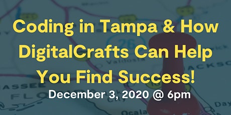 Webinar: How DigitalCrafts Can Help You Find Success In A Tech Career tickets