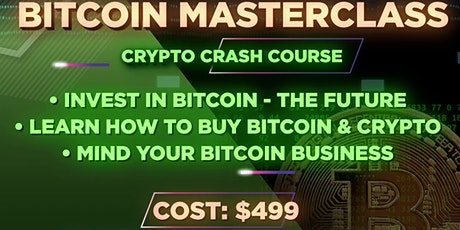Bitcoin Masterclass tickets