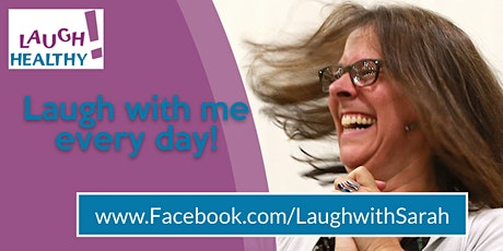 Laugh with Sarah on Facebook Every Day tickets