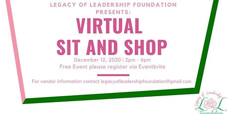 Virtual Sit & Shop Fundraiser tickets
