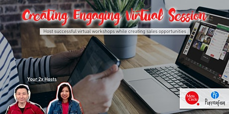 Creating an Engaging Virtual Session (Zoom Hands-on Workshop) tickets