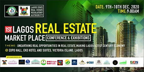 1st Lagos Real Estate Market Place Conference and Exhibitions tickets