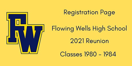 FWHS Reunion ('80 - '84) - Registration & Information tickets