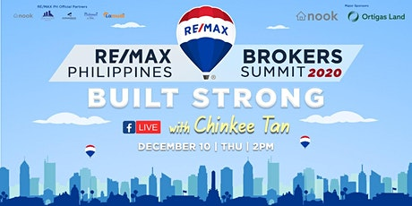 RE/MAX Philippines Brokers Summit 2020:  Built Strong tickets