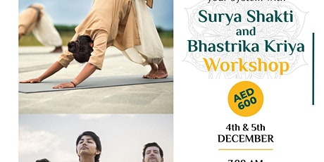 Surya Shakti & Bhastrika Kriya Workshop tickets