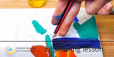 Oil Painting Lesson [#5 From Draft to Canvas] - Free tickets