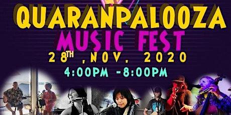 November 2020 QuaranPalooza Livestream Music Fest tickets