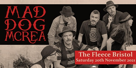 Mad Dog Mcrea (Sat 21st Nov) tickets