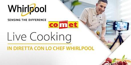 """Corso di Cucina """"PRIMI PIATTI"""" con Microonde Whirlpool con COMET biglietti"""