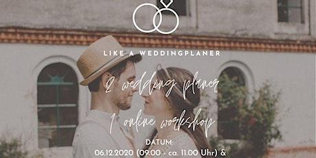 Online-Workshop: Alles rund um's Thema Heiraten! Tickets
