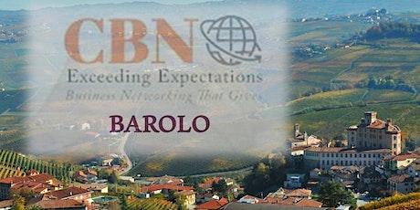 CBN BAROLO - Martedì 01 dicembre inizio ore 12:30 posti limitati a 30. biglietti
