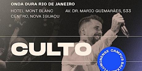 Culto Onda Dura Rio de Janeiro - Campus Baixada ingressos