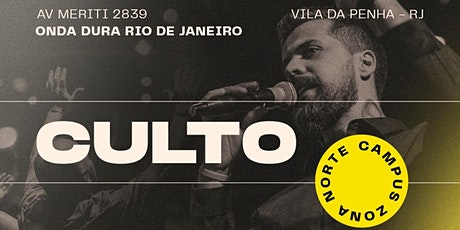 Culto Onda Dura Rio de Janeiro - culto 1 ingressos