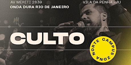 Culto Onda Dura Rio de Janeiro - culto 2 ingressos