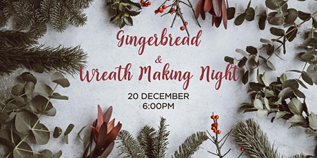 Gingerbread and Wreath Making Night tickets