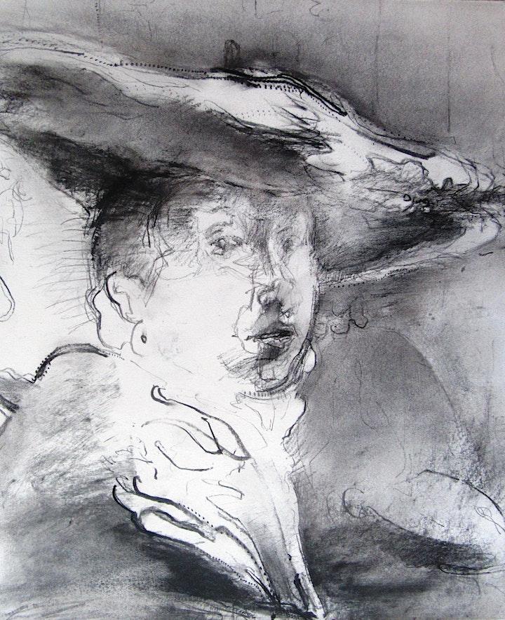 We Explore Drawing 3 Hour Portrait Drawing Workshop image