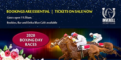 Inverell Race Day 26th December 2020 tickets