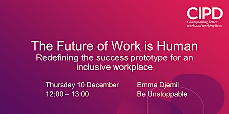 The Future of Work is Human tickets