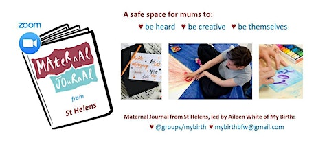 Maternal Journal from St Helens on Zoom December 2020 tickets