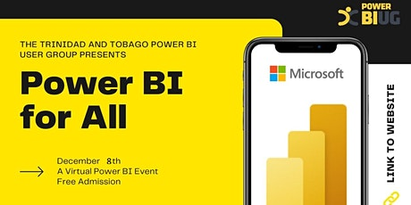Power BI For All tickets
