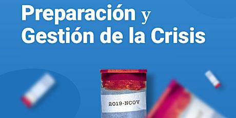 """Training en """"Preparación y Gestión ante la Crisis"""" entradas"""