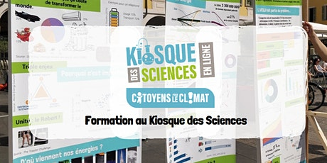 Formation au Kiosque des Sciences - Citoyens pour le Climat billets
