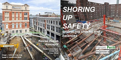 Shoring Up Safety - Konrad Xuereb - KonceptX tickets