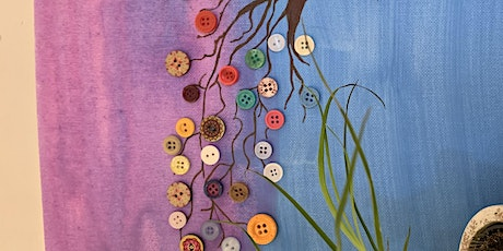 Button Tree on Canvas for the over 55s tickets