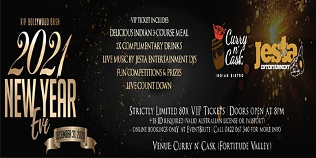 New Years Eve 2021 (Bollywood VIP Bash) tickets