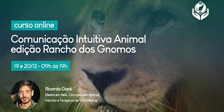 Curso Comunicação Animal entre Consciências - edição Santuário Animal - dez ingressos