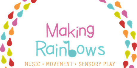 WED Tiny Tots Making Rainbows Session tickets
