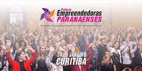 Prêmio Empreendedoras Paranaenses ingressos
