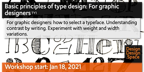 Basic principles of type design: For graphic designers (TY1) tickets