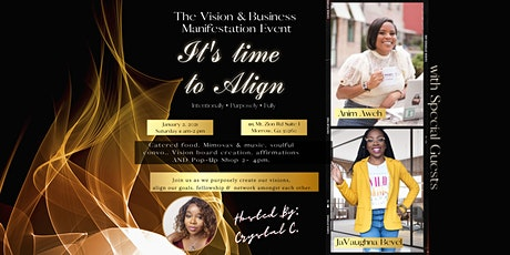 The Vision & Business Manifestation Event tickets