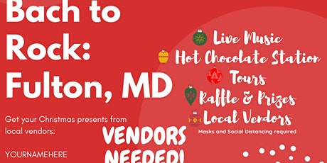 The Holiday Market at Bach to Rock: Fulton, MD tickets