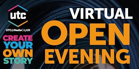 Virtual Open Evening tickets