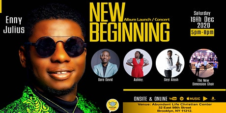 NEW BEGINNING: ALBUM LAUNCH & CONCERT tickets