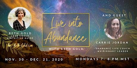 Live into Abundance tickets