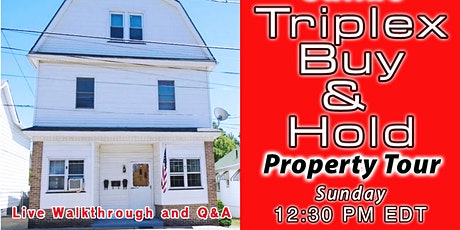 Online Triplex Rental Property Deal Tour - PA tickets