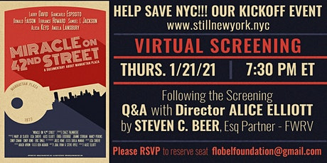 "STILL NY Virtual Screening of ""Miracle on 42nd Street"" tickets"