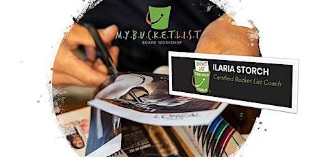 BUCKET LIST ON-LINE WORKSHOP - Ilaria Storch ingressos