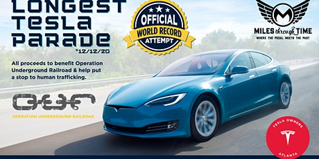 Longest Parade of Tesla Cars tickets
