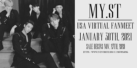 MY.ST Virtual Fanmeet tickets