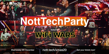 #NottTechParty - The Nottingham Tech Community Christmas Party 2020 tickets