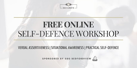 Free Online Women and Girl's Self-Defence Workshop (South Africa) tickets