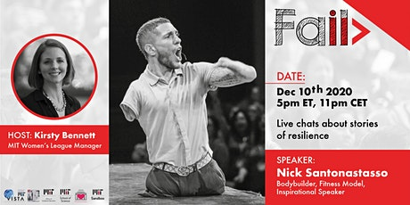 FAIL! - Live chats about stories of resilience with Nick Santonastasso tickets