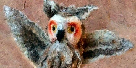 WHIMSICAL 3D NEEDLE FELTED BIRDS, Saturday, April 10 - 2:30 - 6:00 pm tickets
