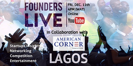 Founders Live Lagos - December 2020 Edition tickets